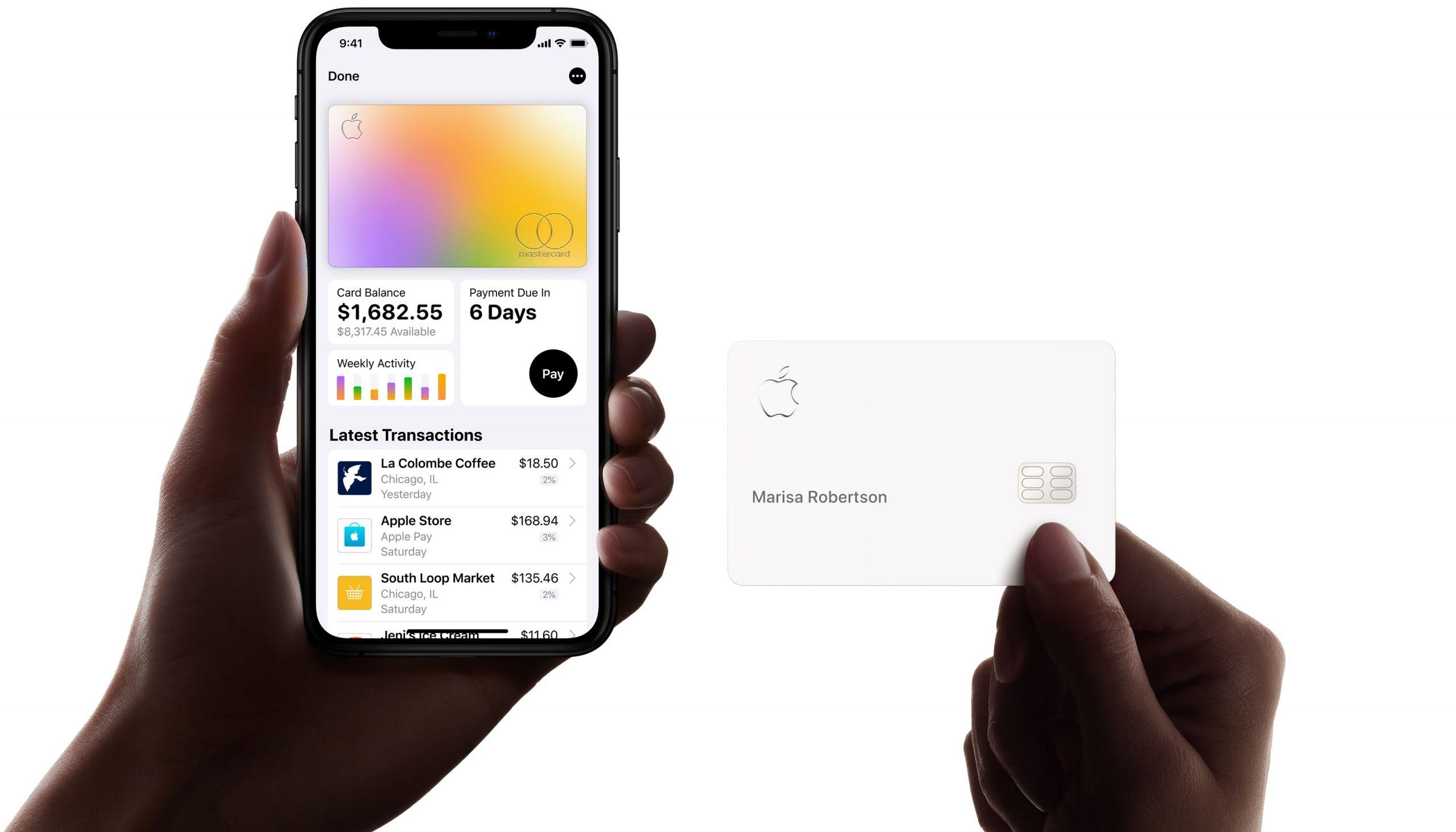 Apple Card — бесплатная банковская карта от Apple с глобальным кэшбеком