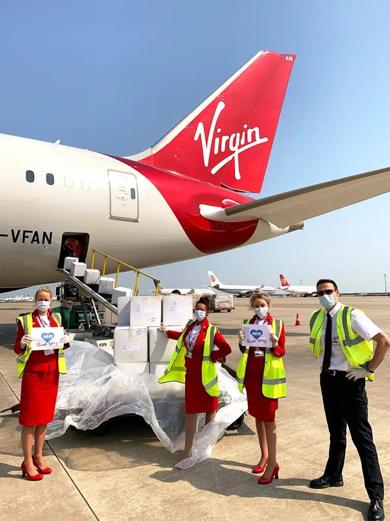 Virgin Atlantic просит правительство Великобритании о спасении компании