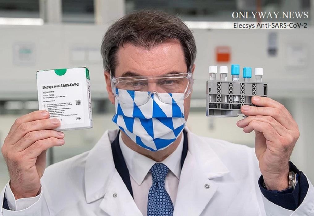 Коронавирусный тест Elecsys Anti-SARS-CoV-2 на антитела может быть ключом к снятию блокировки