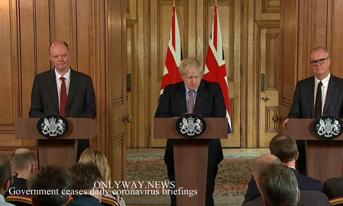 Правительство прекратило ежедневные пресс-конференции по коронавирусу