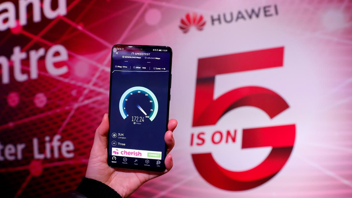 Китайская компания Huawei является мировыми лидером в сфере технологий 5G