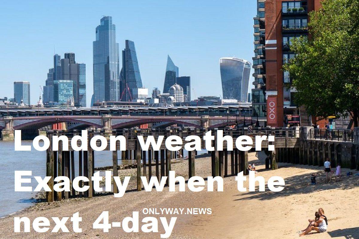 Погода в Лондоне 4-дневная жара