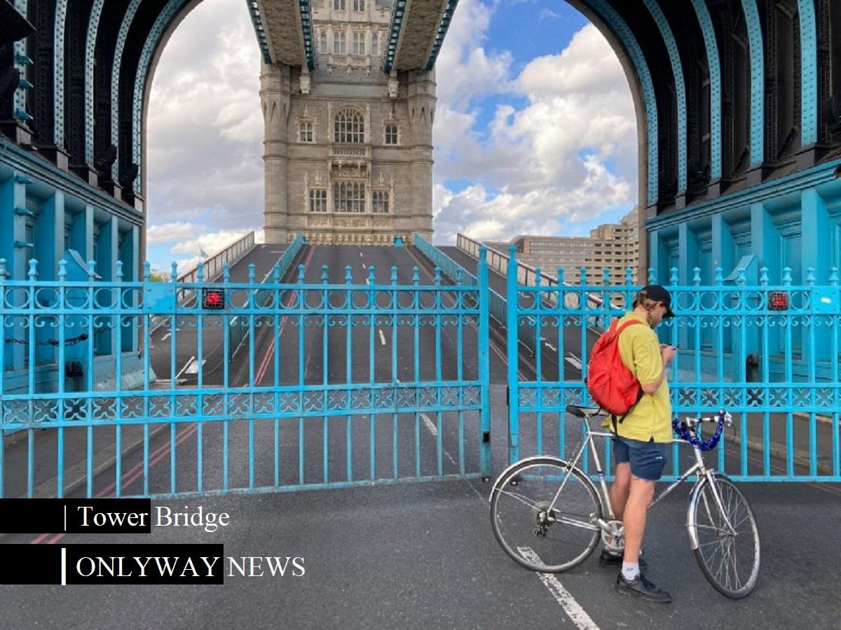 Тауэрский мост застрял открытым