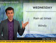 Погода в Англии дождь и ветер в Лондоне