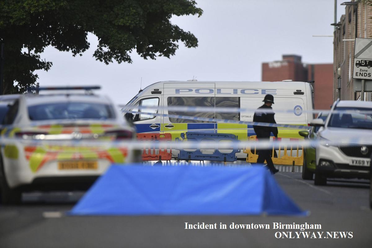 Incident in downtown Birmingham