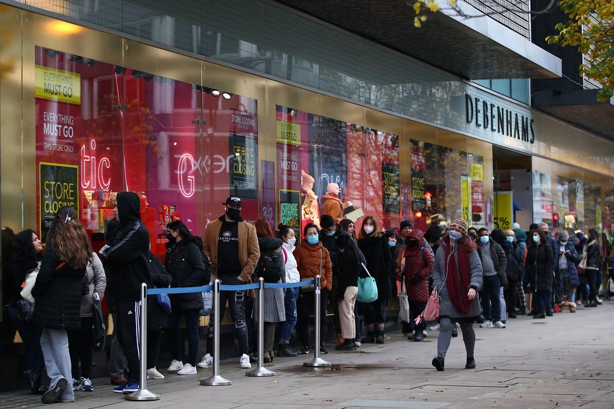 Лондонцы должны быть осторожными во время рождественских покупок