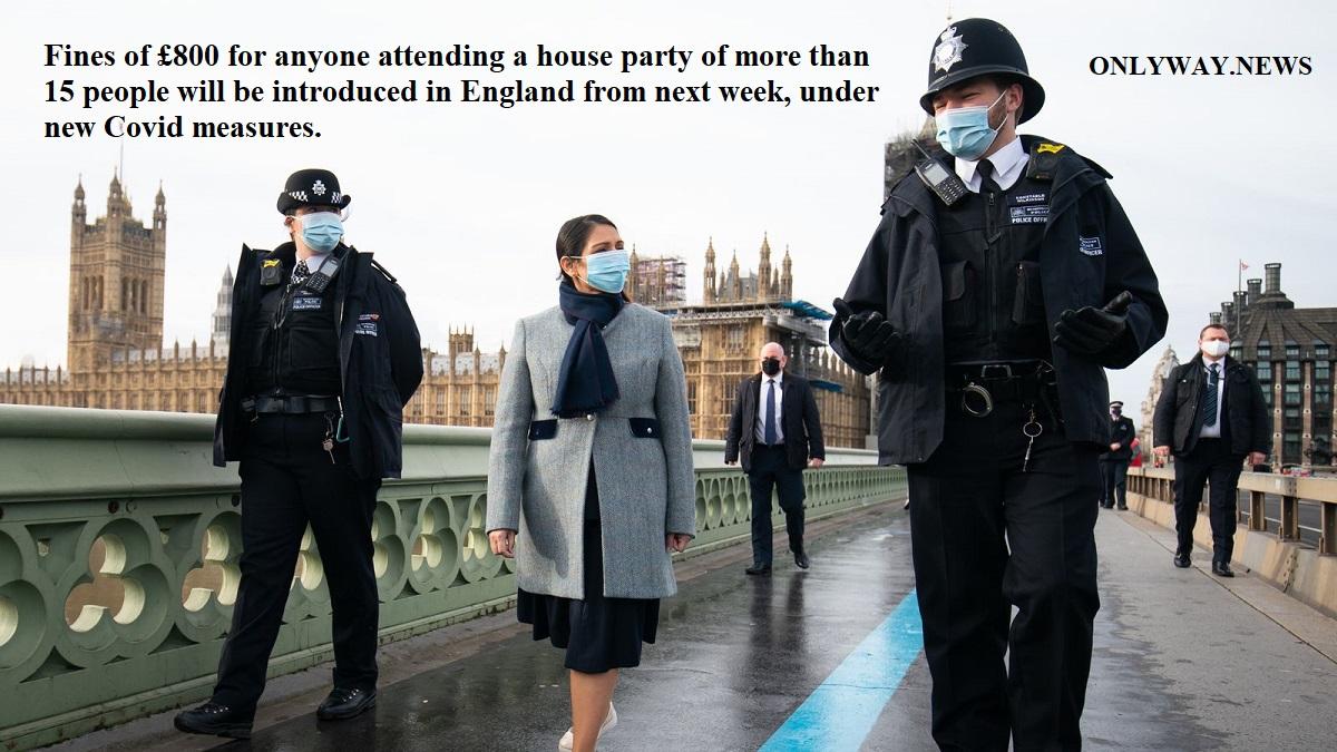 В Англии вводят штраф в размере £800 для всех, кто пойдёт на вечеринку