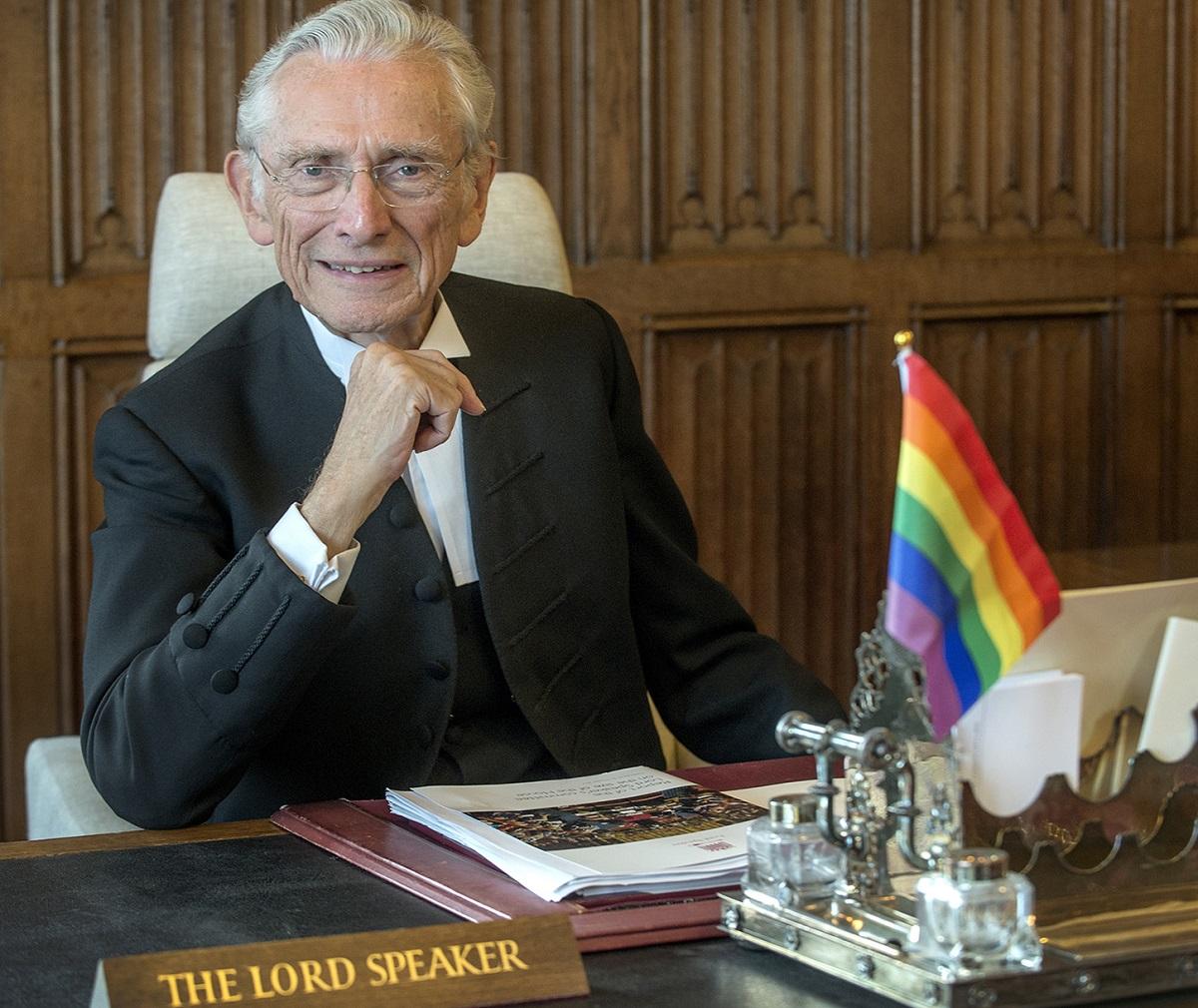 Спикер Палаты лордов ушел в отставку