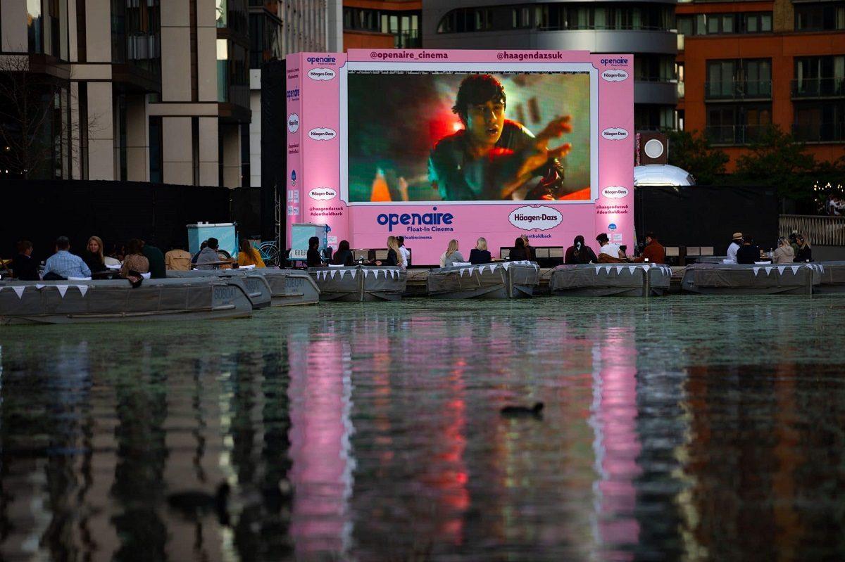 В Лондоне снова откроется плавучий кинотеатр