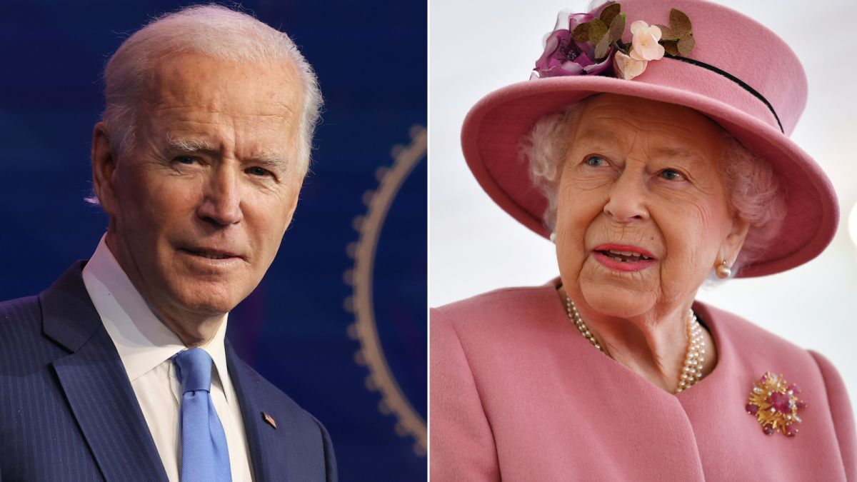 Джон Байден встретится с британской королевой после саммита G7