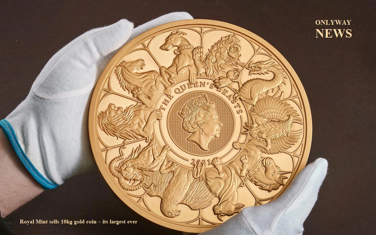 Royal Mint sells 10kg gold coin – its largest ever