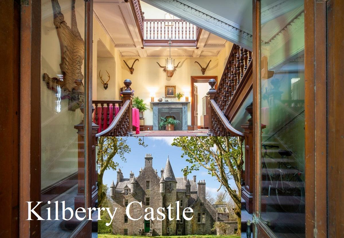 Замок Килберри на западном побережье Шотландии с десятью спальнями выставили на продажу за 650 тысяч фунтов