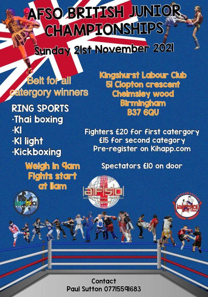 Чемпионат Великобритании среди юниоров по Muay Thai в Бирмингеме ONLYWAY NEWS