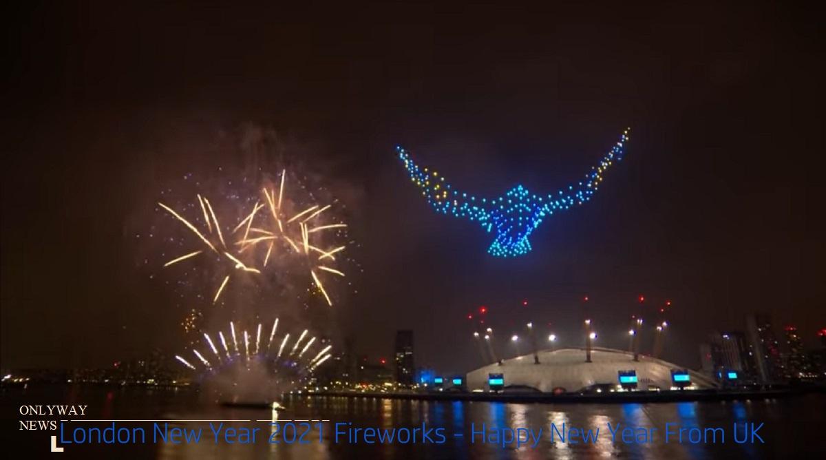Новогодний фейерверк в Лондоне отменен на 2022 год